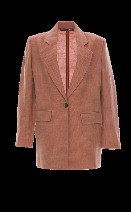 Wool Linen Boyfriend Blazer by Zeynep Arcay, available on zeyneparcay.com for $2100 Kaia Gerber Outerwear SIMILAR PRODUCT
